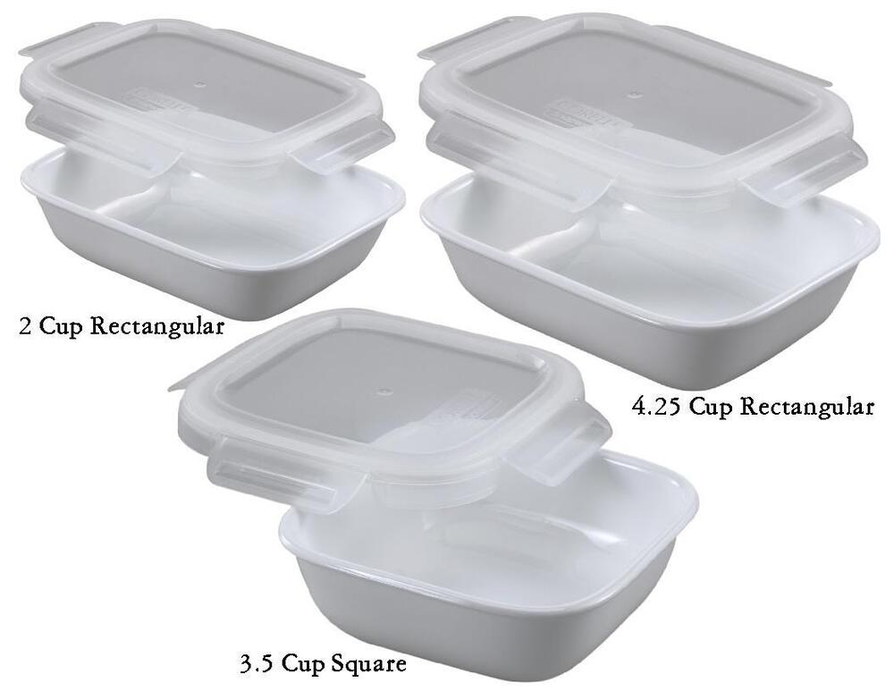 Corelle Bake Serve Store Choose 4 25 3 5 Or 2 Cup White