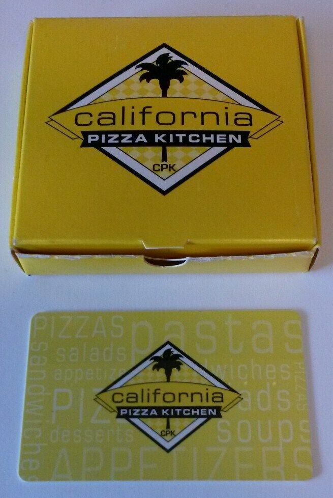 California Pizza Kitchen Gift Card Email