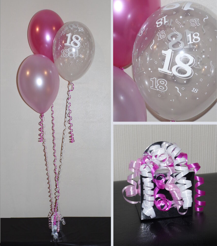 18th birthday balloons diy party decoration kit clusters for 18 birthday decoration ideas