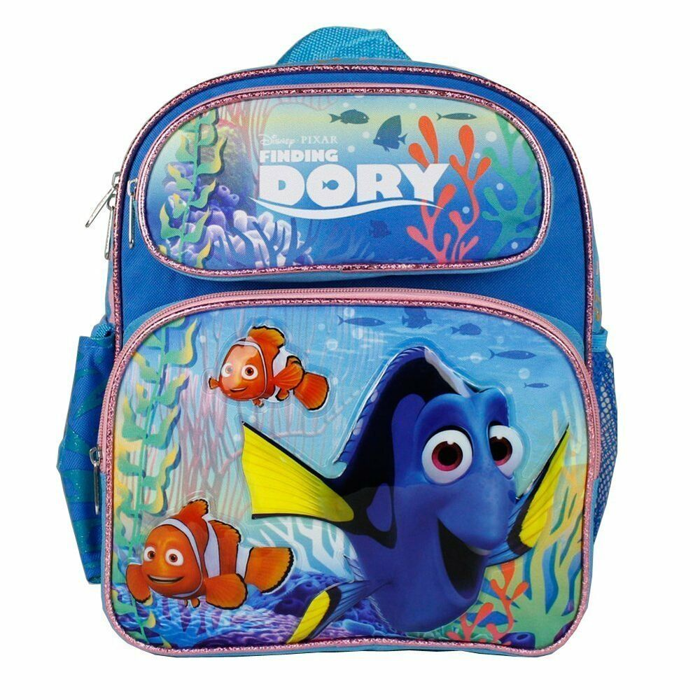 Disney Finding Dory New Girls 12 Quot Inches Blue Backpack