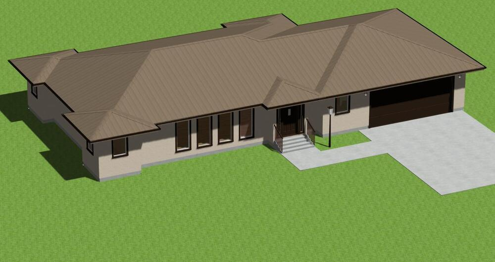 Ranch model 1500 house plans with free greenhouse plans ebay for Garage apartment plans ebay