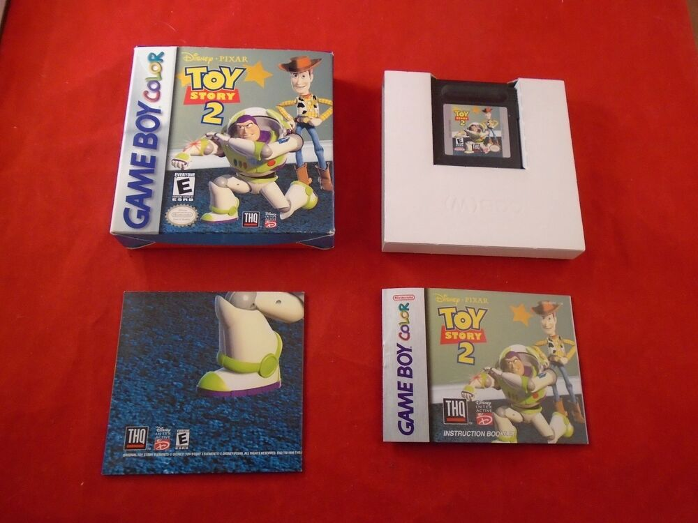 Boy Games Toy : Toy story nintendo game boy color complete w