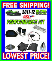 Kawasaki ULTRA 300X Performance Kit 73+MPH RIVA R&D Intake Grate SCOM Air Filter