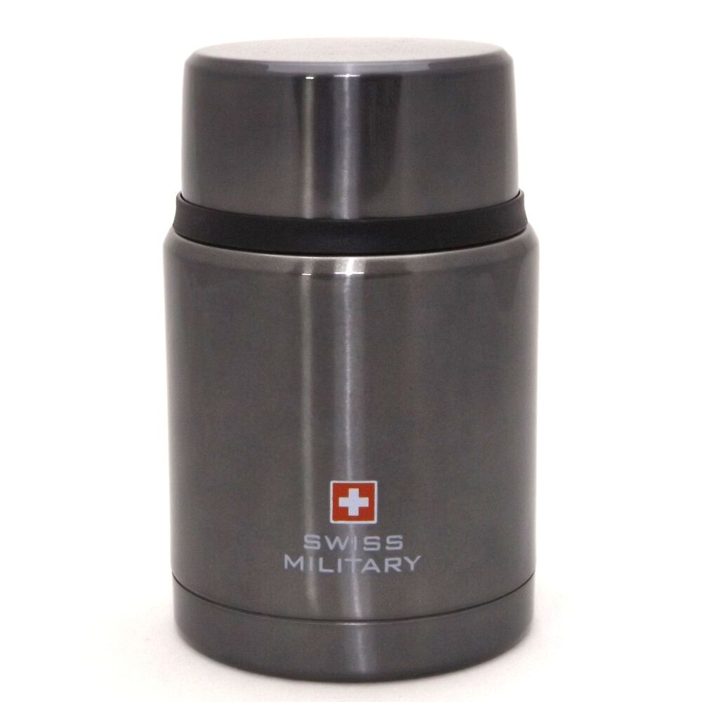 swiss military food jar thermos stainless insulated lunchbox container 16 ounce ebay. Black Bedroom Furniture Sets. Home Design Ideas