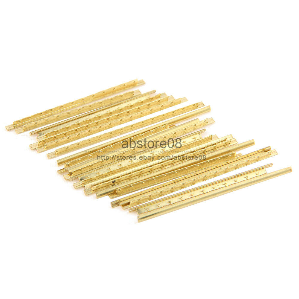 19pcs classical guitar copper fret wire fretwire sets for gold ebay. Black Bedroom Furniture Sets. Home Design Ideas