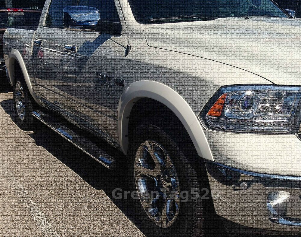 FACTORY OE STYLE FENDER FLARES FOR 2011-2016 RAM 1500 - PAINTABLE SMOOTH MATTE | eBay