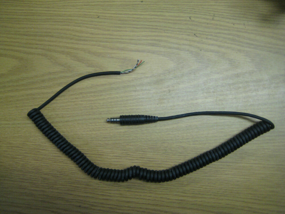 s l1000 david clark headset parts ebay david clark h10-76 wiring diagram at panicattacktreatment.co