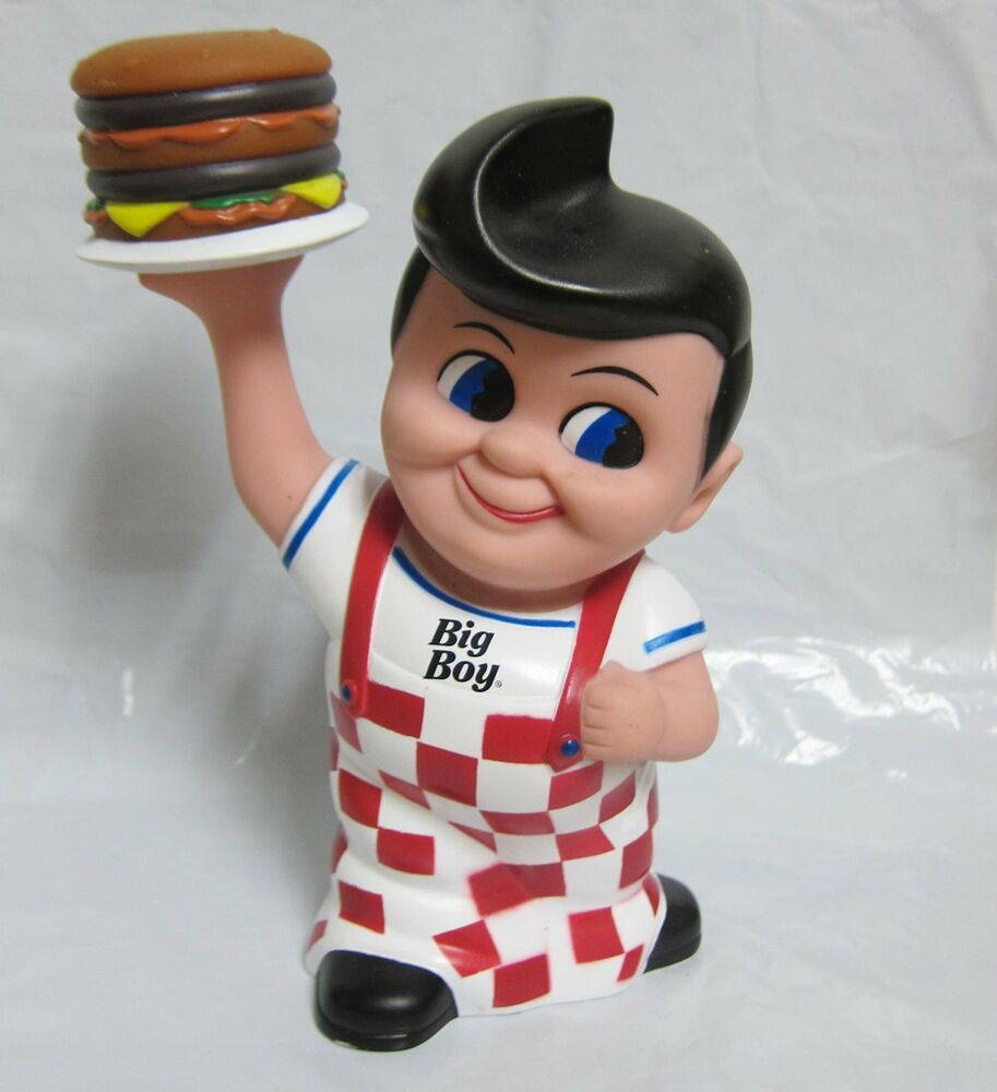 Toy Figures For Boys : Quot collectible frisch s big boy burger bank vinyl