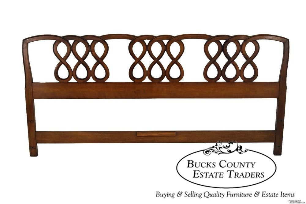Henredon French Country Style Fruitwood King Size
