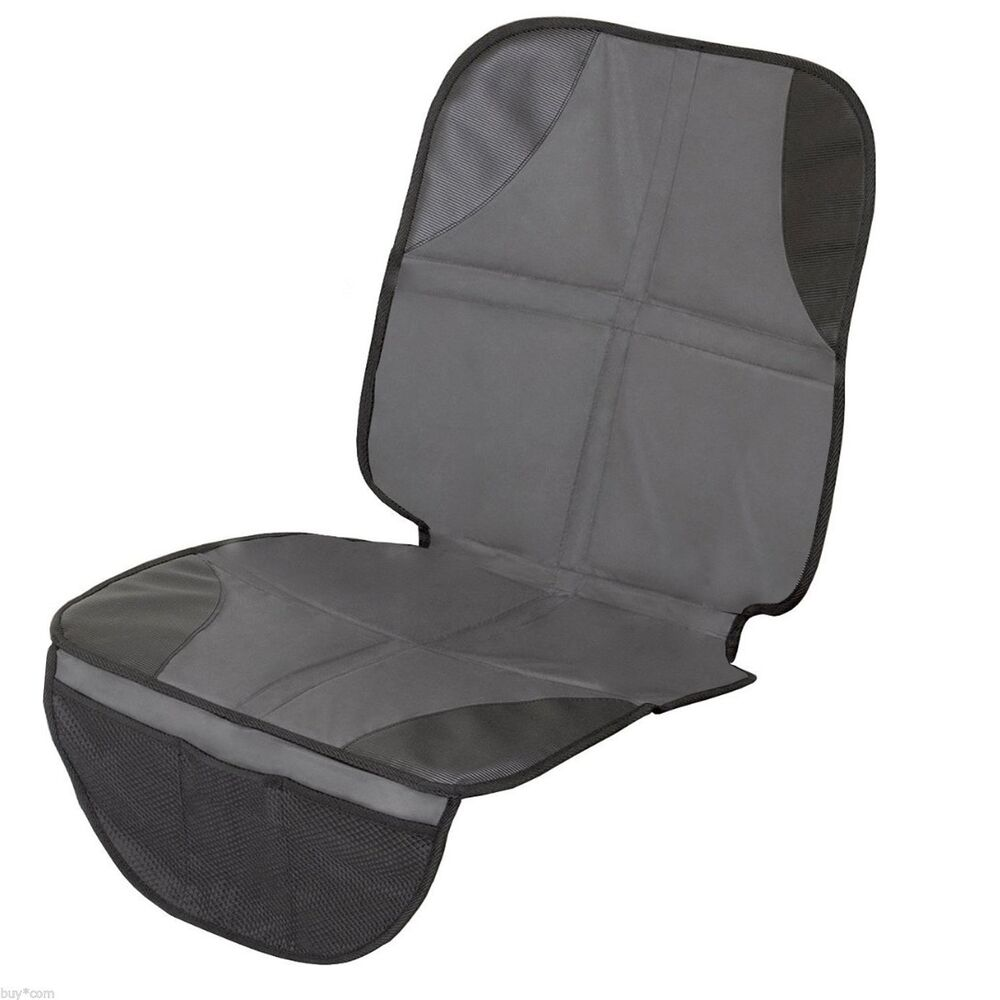 infant baby easy clean non skid watherproof car seat protector mat duomat new ebay. Black Bedroom Furniture Sets. Home Design Ideas