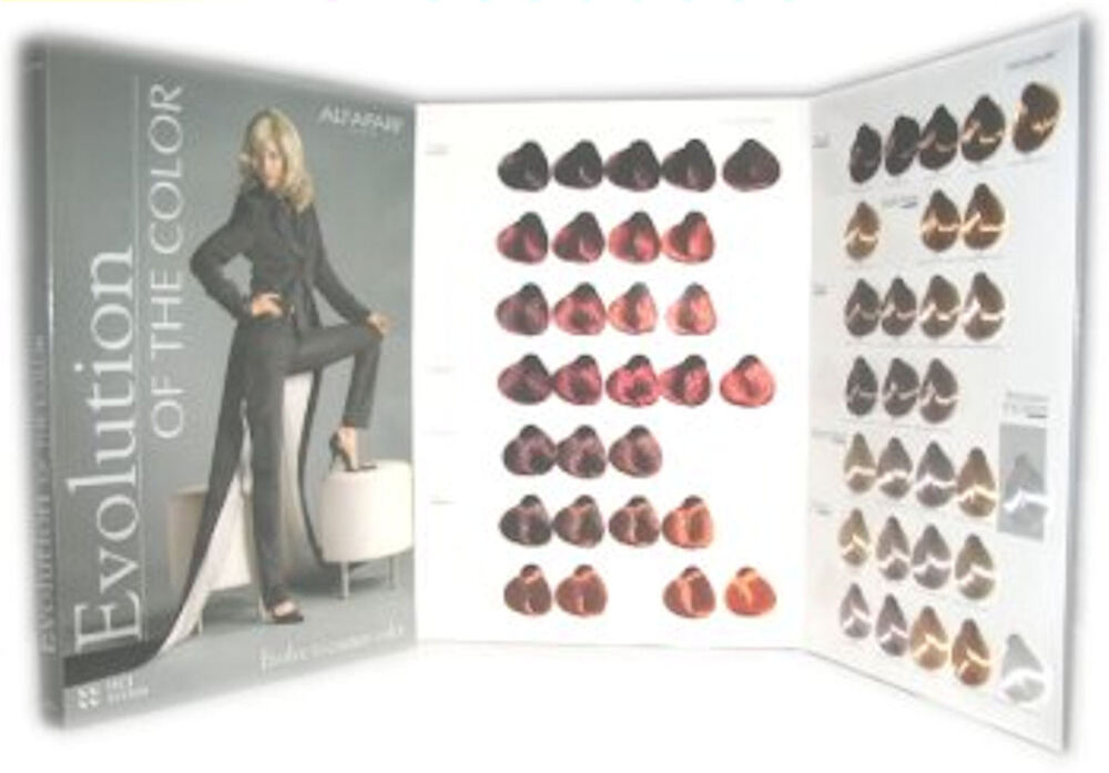Alfaparf Evolution Of The Color Hair Color Chart Ebay