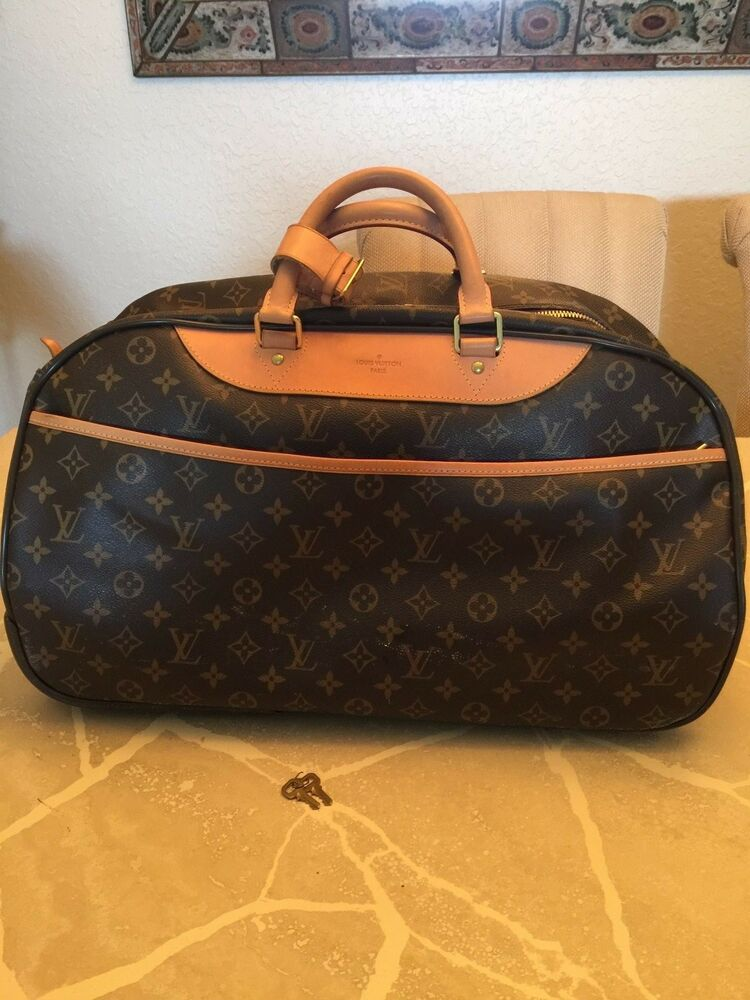 louis vuitton monogram eole trolley bag ebay. Black Bedroom Furniture Sets. Home Design Ideas