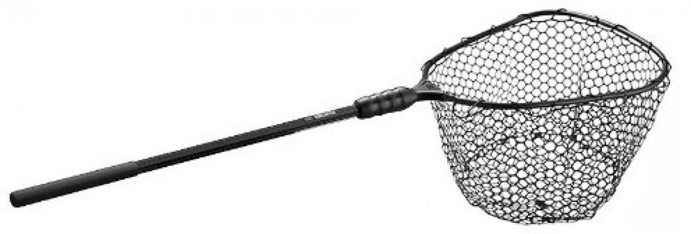 Ego large with x large rubber bag landing net ebay for Rubber fishing nets