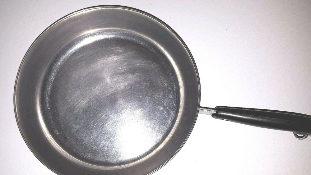 Vintage 10 Quot Fry Pan Revere Ware Stainless Steel Copper