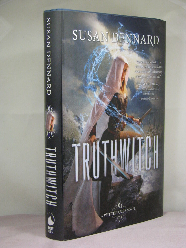 1st Signed By Author Witchlands 1 Truthwitch By Susan Dennard