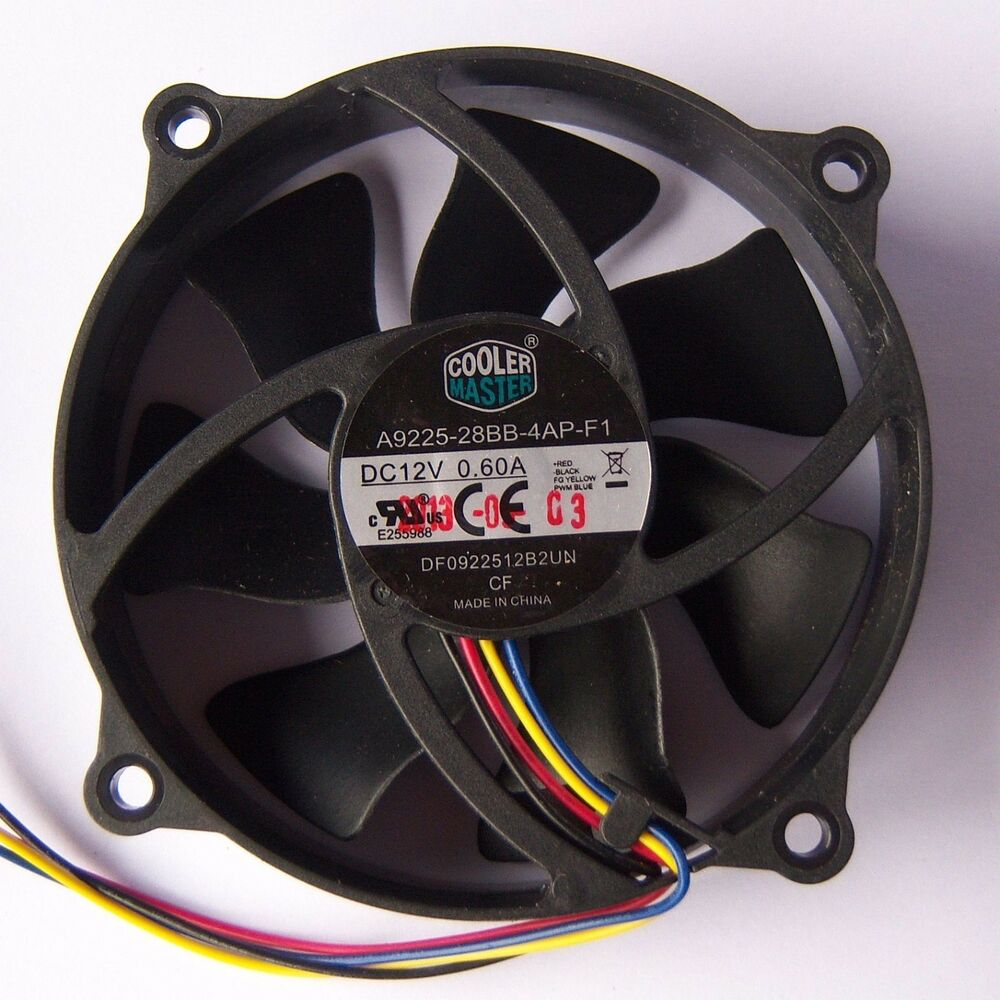 Computer Fan Cooler : Cooler master pwm mm round pc cpu fan pin cooling deep