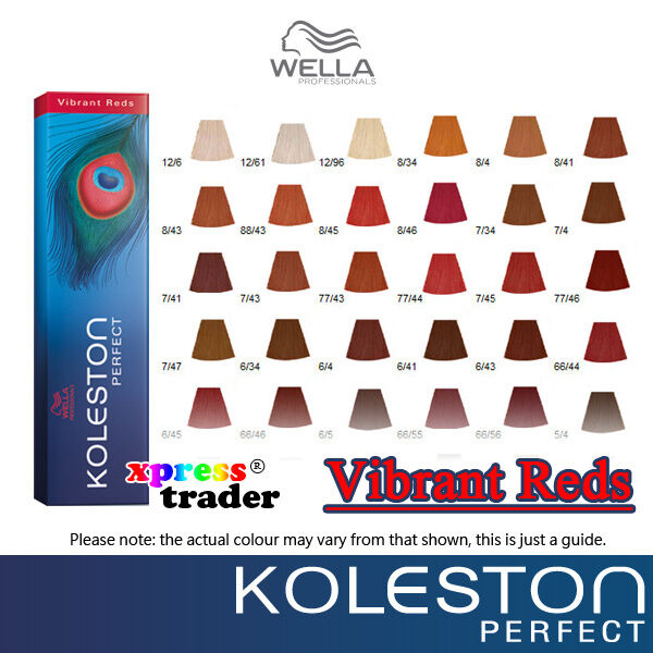Wella Hair Colours Chart Koleston