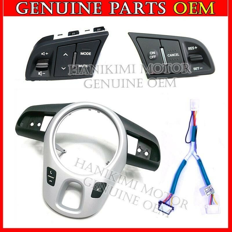 2009 2010 2011 2012 2013 Kia Soul Oem Audio Auto Cruise Retrofit Diy Kit 4pcs Ebay