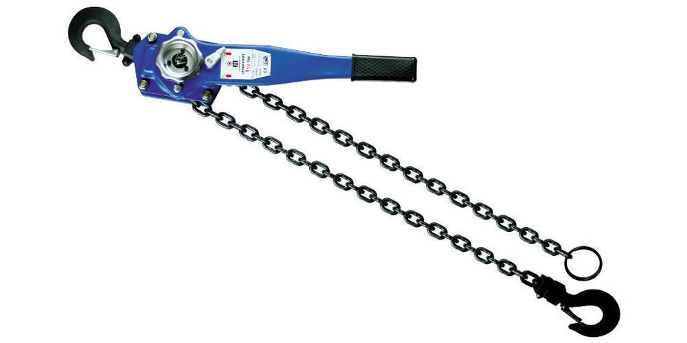 Tractor Chain Lock : T chain come along lever hoist block ft lift