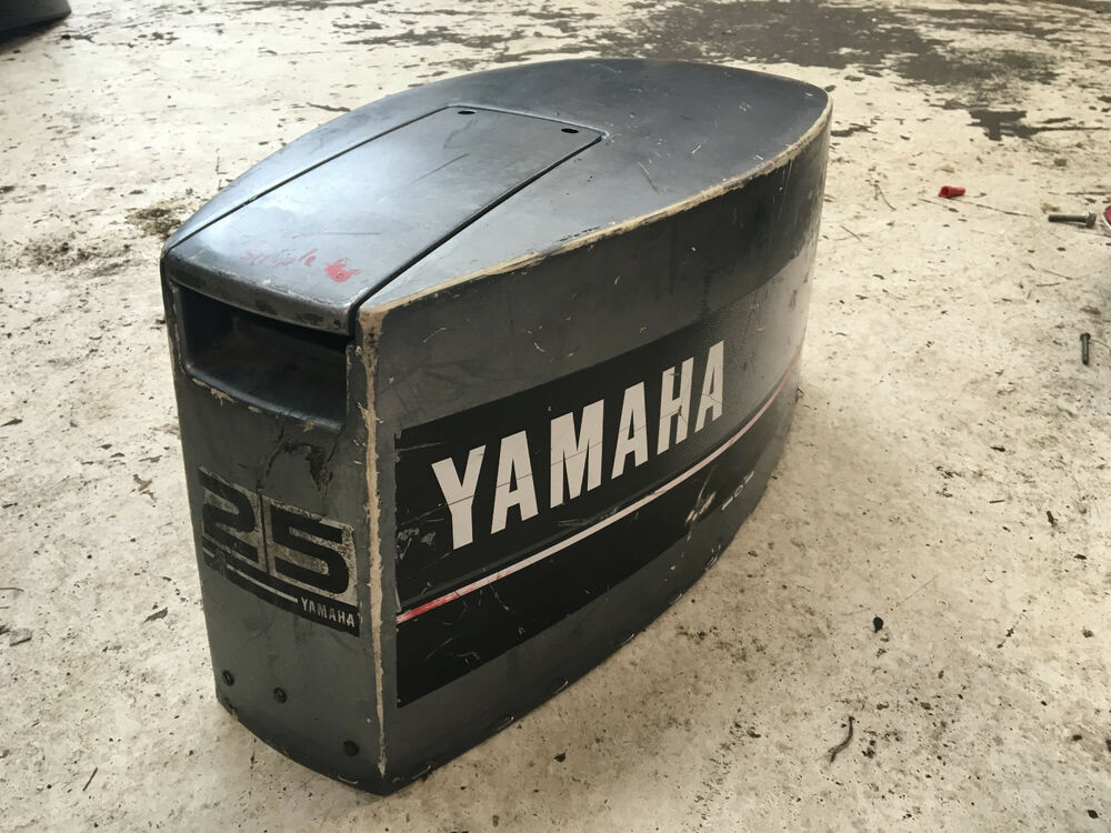 1993 yamaha 25 hp 2 stroke 2 cylinder hood top cowl for I s bains cowling
