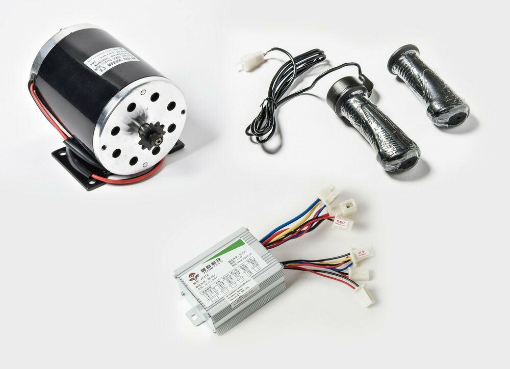 500 w 36 v dc electric 1020 motor kit w base speed control for Speed control electric motor