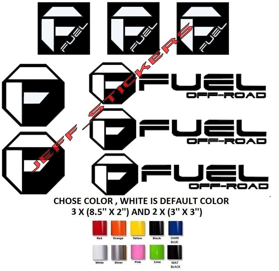 240 fuel decals off road vinyl graphic decal stickers Getting stickers off glass