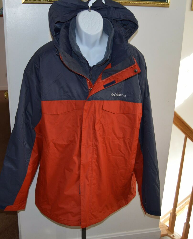 NWT ~ COLUMBIA 3- IN-1 Timberline Triple Jacket Mens XXL ...
