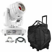 Chauvet DJ Intimidator Spot 355 IRC LED Moving Head White with DMX Cable & Case