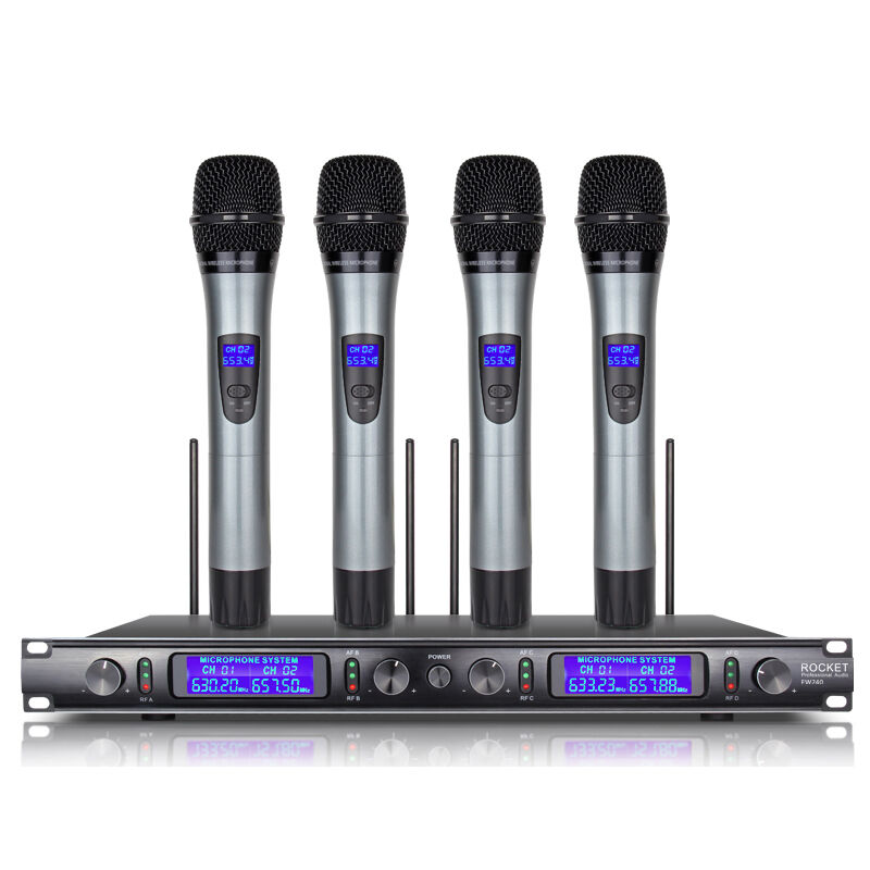 4 channel 4 cordless handheld mic uhf wireless microphone system metal ew240 ebay. Black Bedroom Furniture Sets. Home Design Ideas