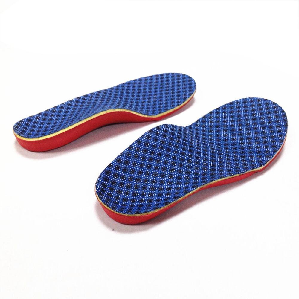 1 pair premium orthotic shoes insoles insert high arch