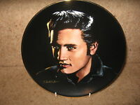 GOOD Retro Collectable Elvis Presley Plate ~ Love Me Tender ~ David Zwierz 1991