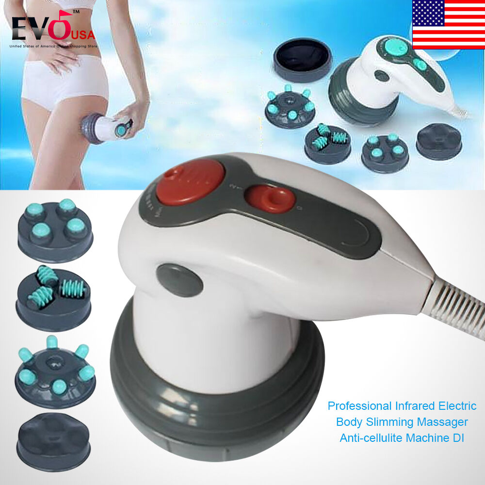 professional anti cellulite machine di infrared electric body slimming massager ebay. Black Bedroom Furniture Sets. Home Design Ideas