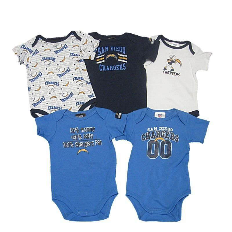 San Diego Chargers Baby Clothes: New NFL Infant San Diego Chargers Boys Baby One Piece
