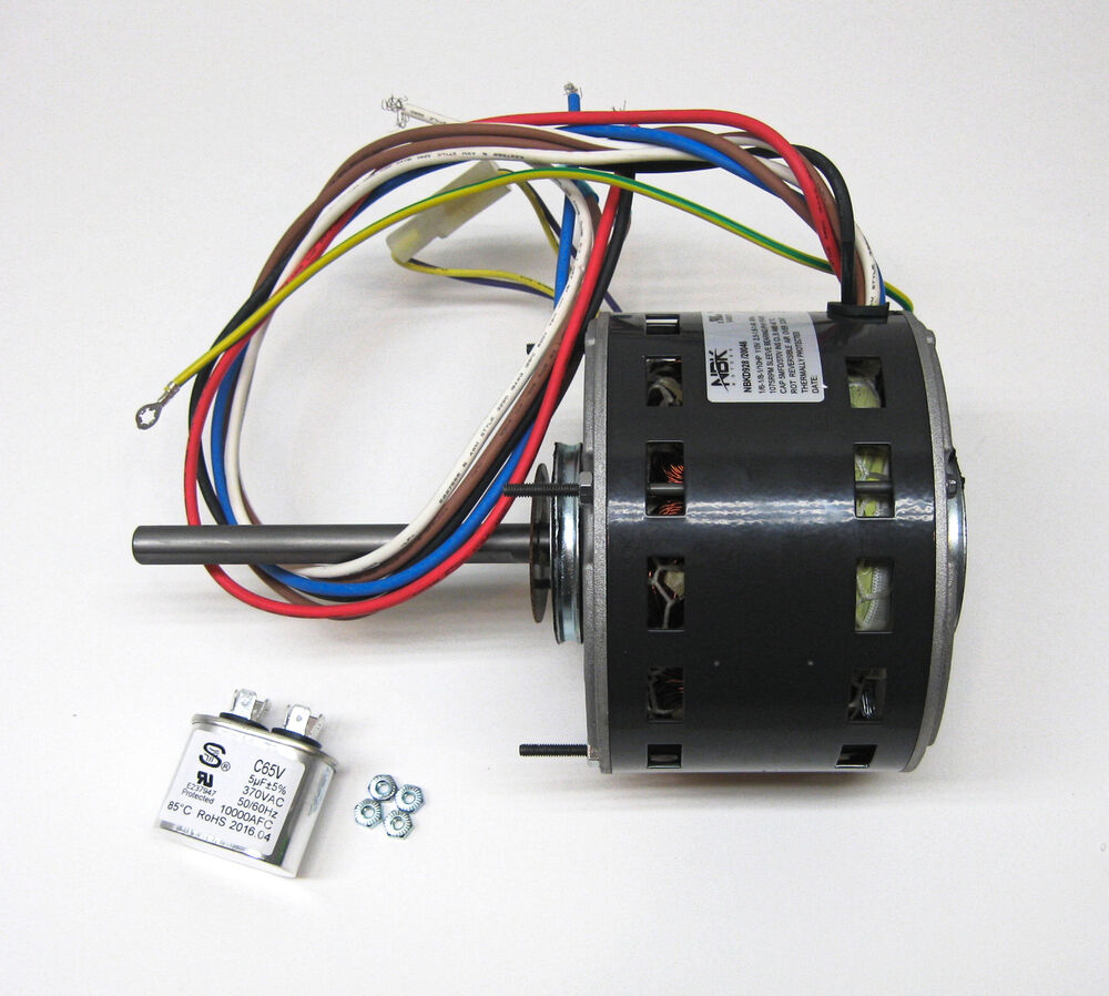 Air Force Blower Motors : Furnace air handler blower motor hp rpm volt