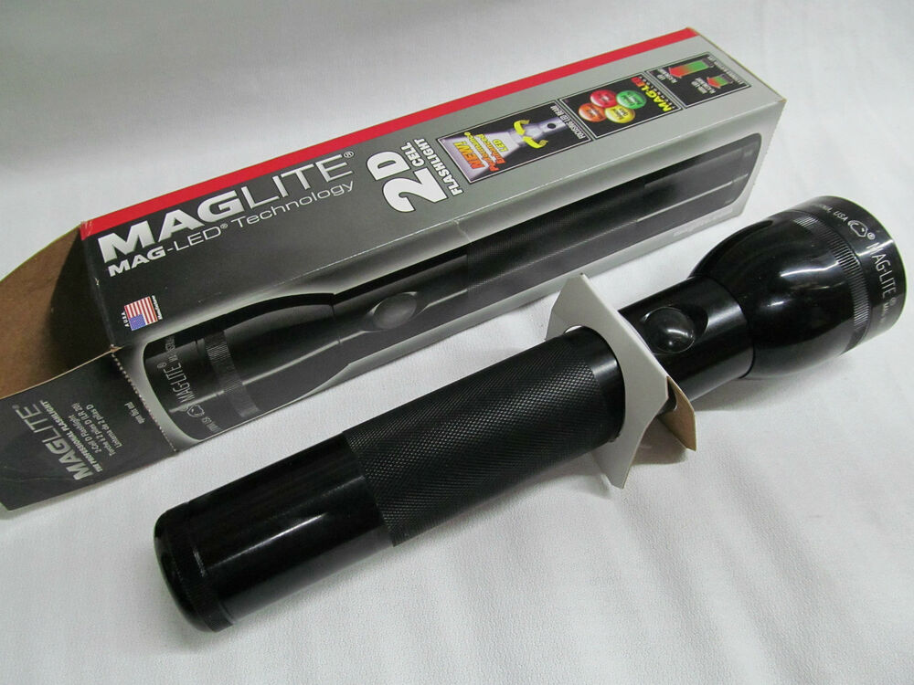 maglite mag st2d015 led 2 d cell flashlight black. Black Bedroom Furniture Sets. Home Design Ideas
