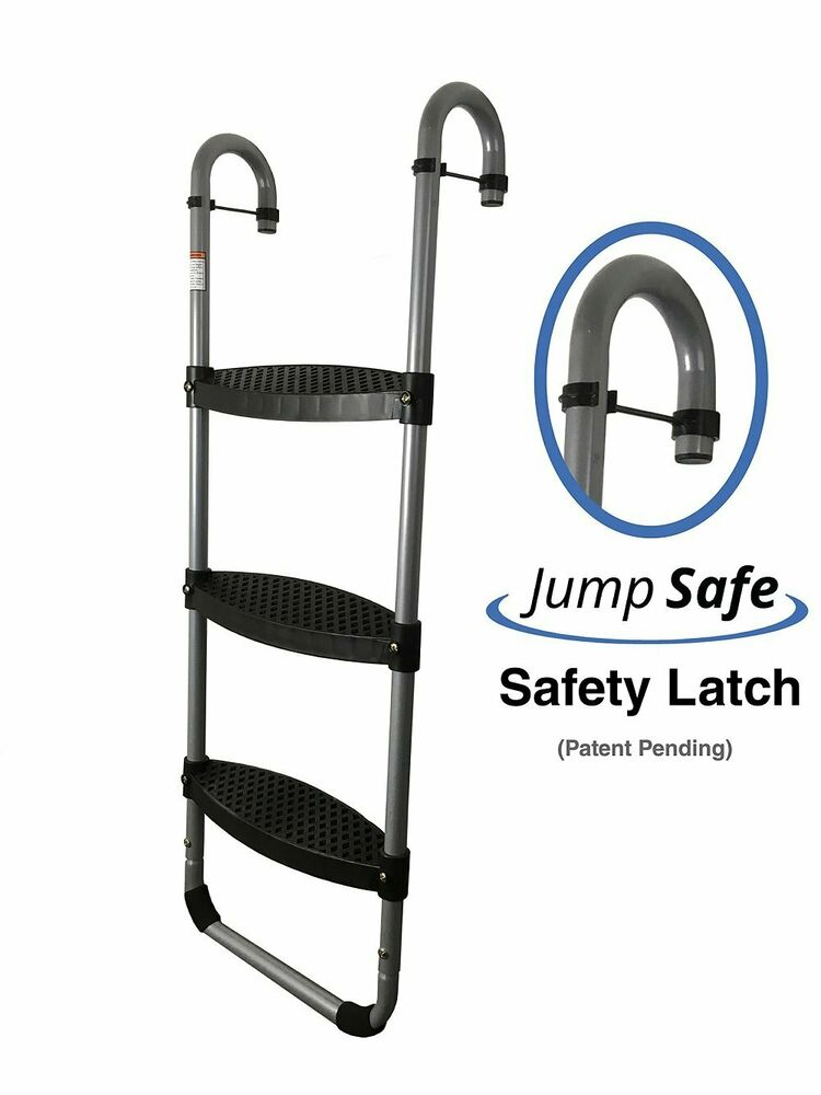 Jumpking Trampoline Ladder Instructions: 3 Step Trampoline Ladder By Trampoline Pro