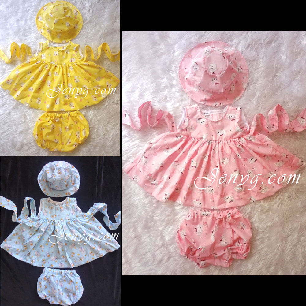how to make handmade baby girl clothes