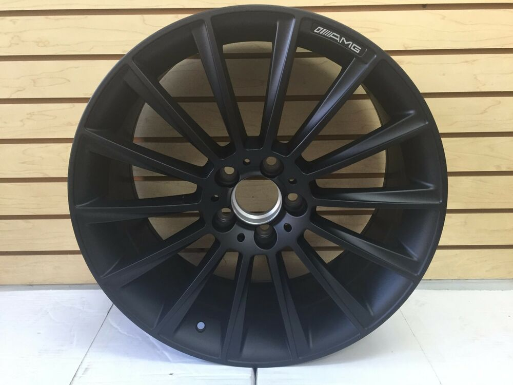 19 s63 amg style staggered wheels rims fits mercedes c e for Mercedes benz staggered wheels