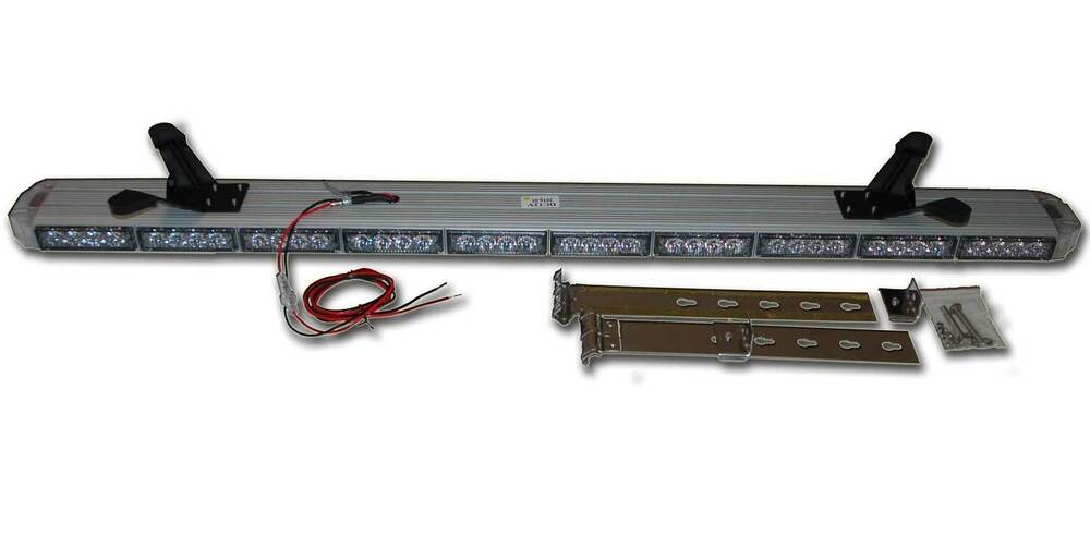 Amber Wireless Led Light Bar 50 Quot 12 Volt Roll Back Tow