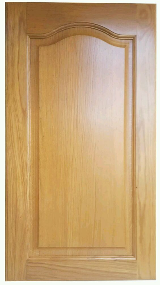 Kitchen Doors Replacement Unit Cabinet Cupboard Front Solid Wood Cathedral New Ebay