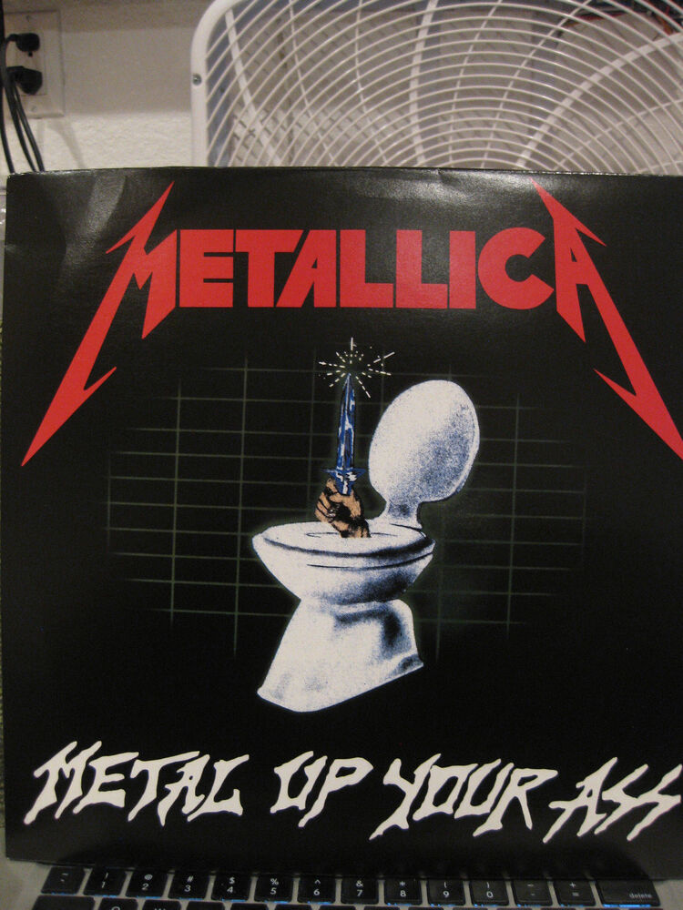Metallica Metal Up Your Ass Music For Nations New Red