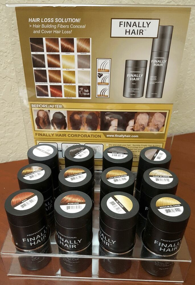 how to use hair building fiber