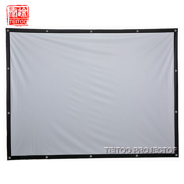 how to clean pvc projector screen