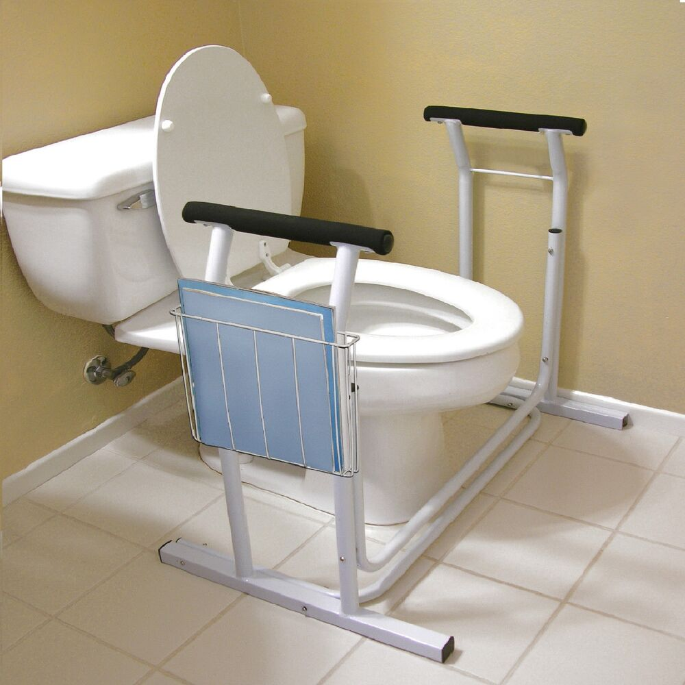 Deluxe Toilet Safety Frame Support 300lbs Capacity