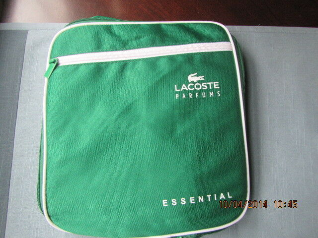 3ffd12f36264fb LACOSTE ESSENTIAL GREEN WHITE Compact Backpack Rucksack SPORTS DUFFLE BAG  TRAVEL