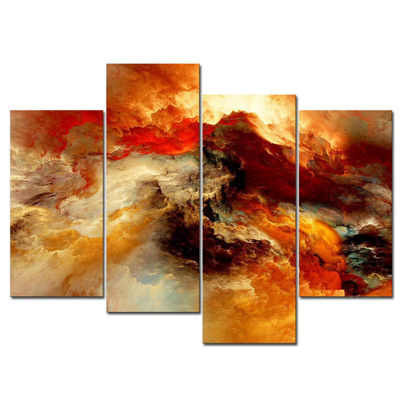 Canvas print wall art picture paintings abstract poster for Where to buy canvas art