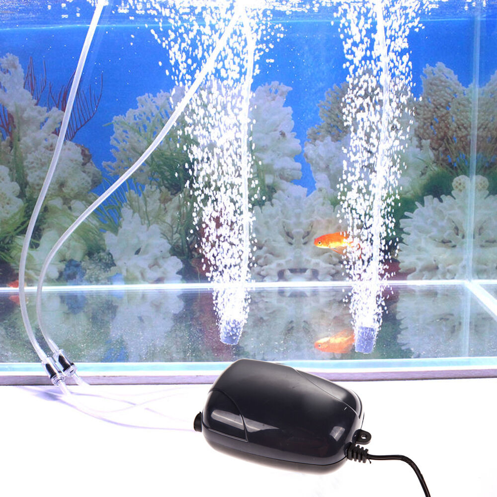 Air bubble disk stone aerator hole air pump for fish tank for Air pump for fish tank