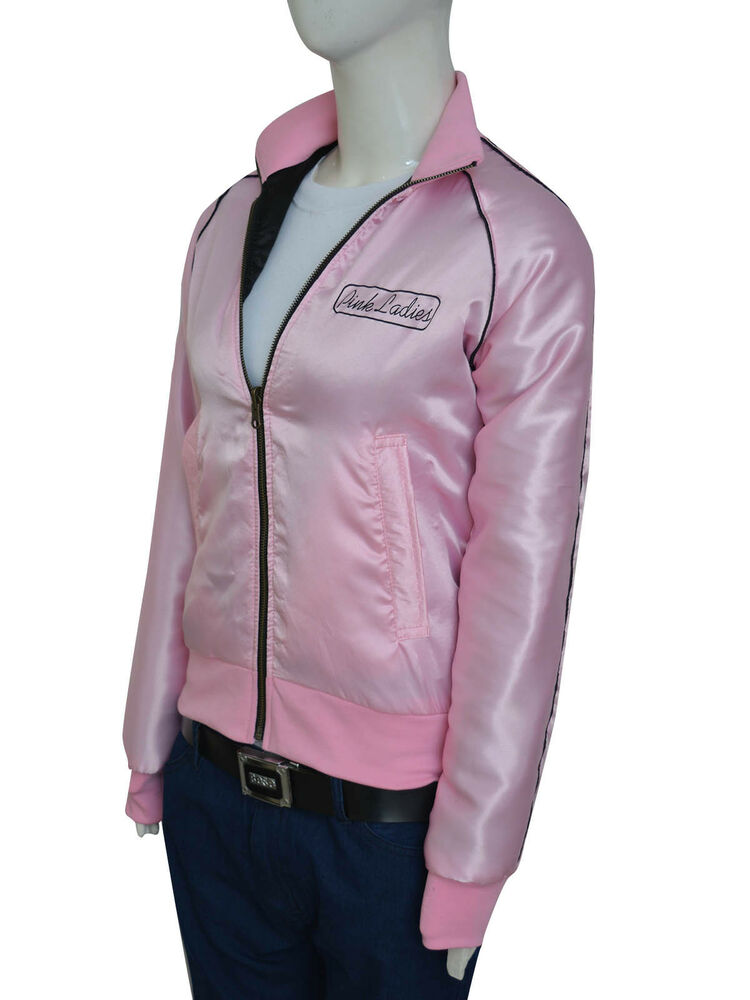 Grease Pink Ladies Jackets One of the true treasures of the movie is the members of the Pink Ladies! These girls were cool, in charge, and you always get a sense that they'll stick together through anything.