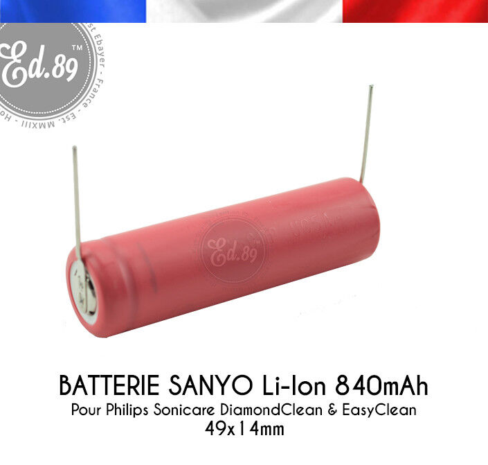 Batterie Sanyo Li Ion 840mah Philips Sonicare Diamondclean