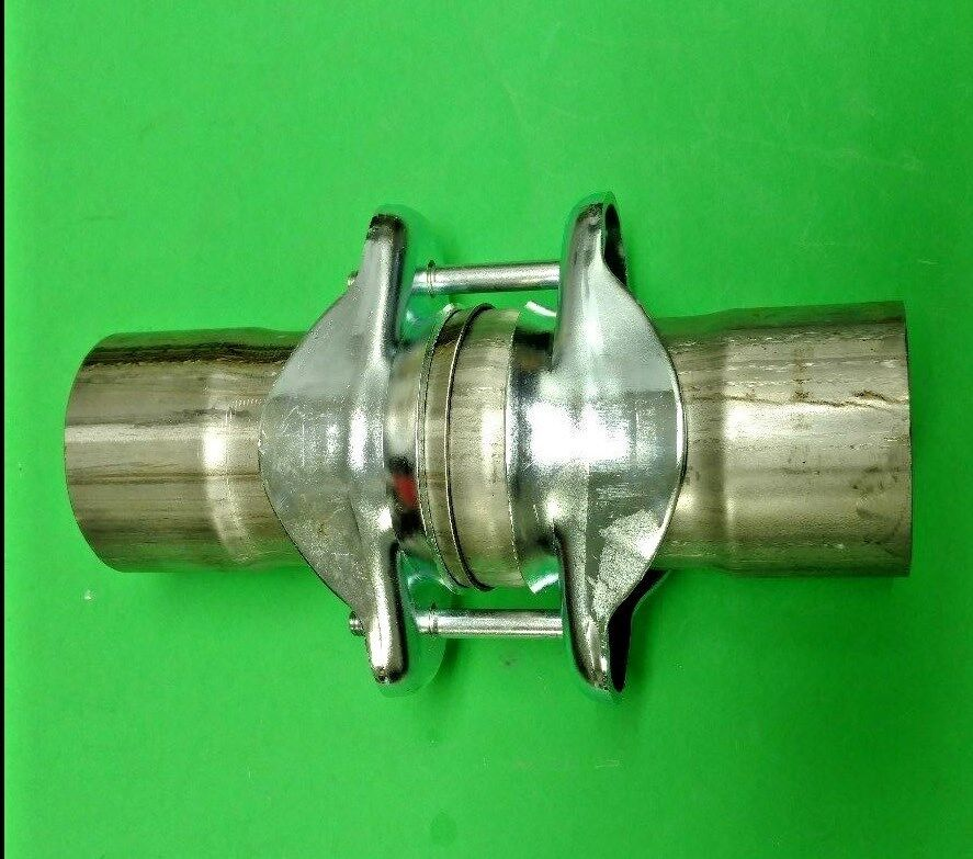 Quot id to stainless ball and socket header